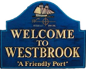 Town of Westbrook, CT - Welcome Sign