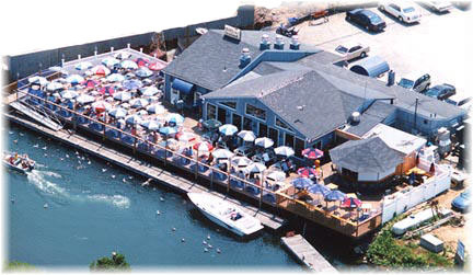 Bills Seafood Restaurant Westbrook Ct Aerial View